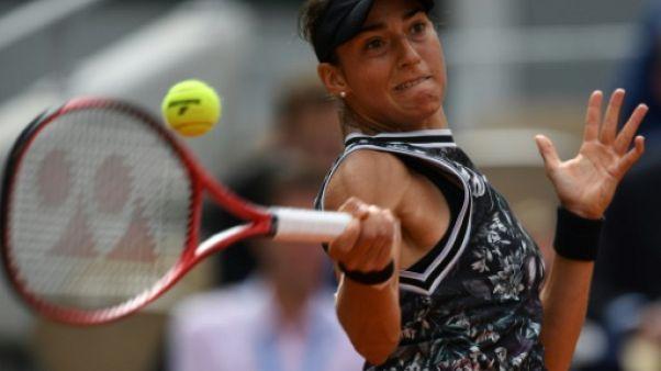 La Française Caroline Garcia lors du 2e tour de Roland-Garros le 30 mai 2019