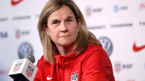 La sélectionneuse des Etats-Unis, Jill Ellis, en conférence de presse à New York, le 24 mai 2019