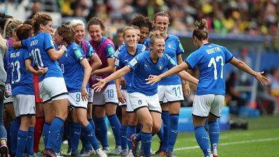 Mondiali donne: boom in tv, 23% share