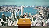 La cheffe de l'exécutif de Hong Kong Carrie Lam a suspendu son projet de loi face aux manifestations massives