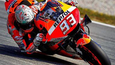 Marquez, contento di precedere le Ducati
