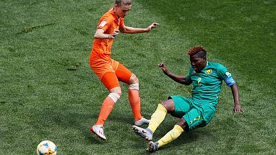 Miedema double helps Netherlands to beat Cameroon to seal last-16 spot
