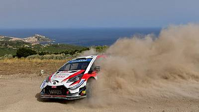 Rallying - Tanak takes over at the top in Sardinia