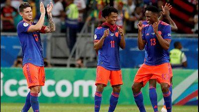 Coppa America, Colombia-Argentina 2-0