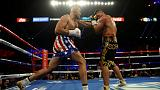 Fury the entertainer downs Schwarz in second round TKO