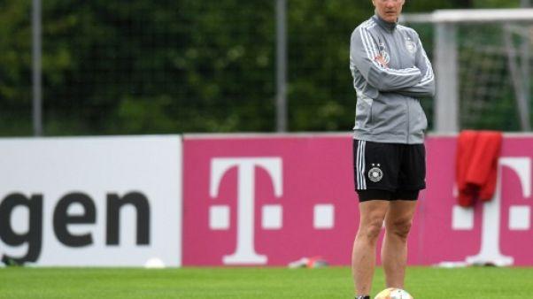 Birgit Prinz, psychologue de l'équipe d'Allemagne, lors d'un entraînement de l'équipe à Grassau, le 28 mai 2019