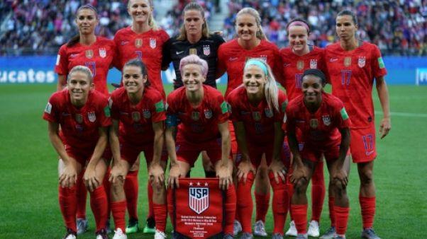 L'équipe des USA lors du match face à la Thaïlande lors du Mondial le 11 juin 2019