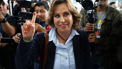 Former first lady Torres takes lead in Guatemala election