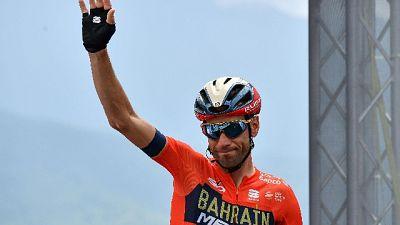 Nibali sarà testimonial di Bike Marche