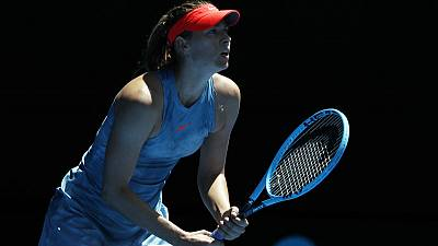Returning Sharapova inspired by 'ultimate fighter' Nadal