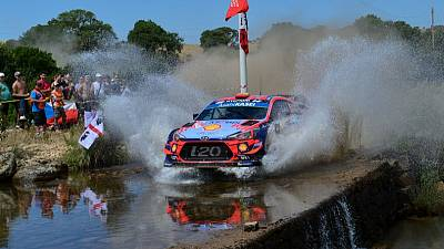 Rallying - Sordo wins in Sardinia after late blow to Tanak's hopes