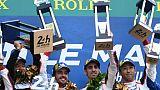 24 Heures du Mans: la passe de deux pour Alonso et Toyota après un final à rebondissements