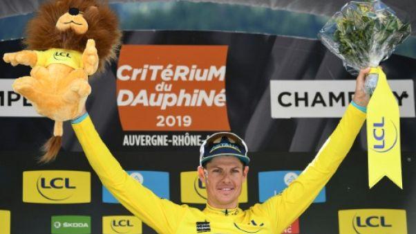 Le Danois Jakob Fuglsang remporte le Dauphiné le 16 juin 2019