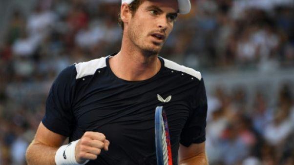 Le Britannique Andy Murray à Melbourne le 14 janvier 2019