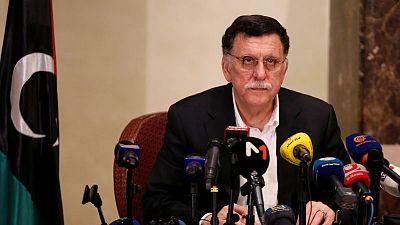 Libya PM Serraj will not sit down with rival Haftar to end war