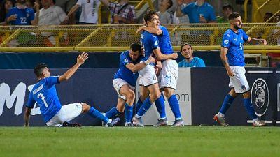 """Euro U21: Gravina """"serata straordinaria"""""""