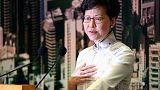 الصين تقول إنها ستواصل دعم الرئيسة التنفيذية لهونج كونج