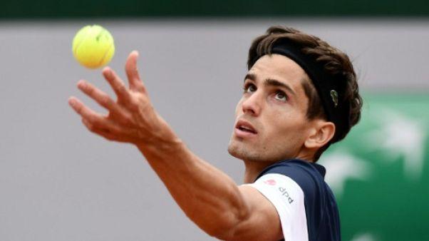 Pierre-Hugues Herbert lors du tournoi de Roland-Garros à Paris, le 29 mai 2019