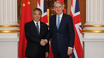 UK and China to speed up plans for bond trading connection - Hammond