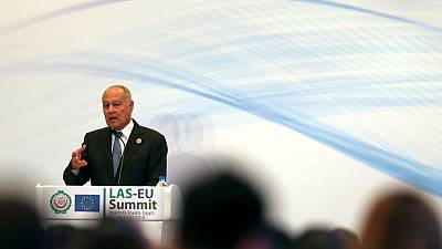 Arab League head warns no Mideast peace deal without Palestinian state
