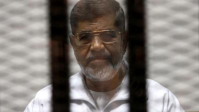 Egypt's ousted Islamist president Mursi dies after collapsing in court
