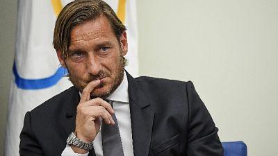 "Roma a Totti: ""Percezione fatti lontana"""