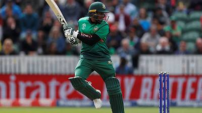 Shakib smashes century as Bangladesh sink West Indies