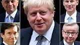 Succession de May : 5 candidats encore en lice, Boris Johnson toujours favori