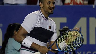 Kyrgios welcomes 'warrior' Murray's return