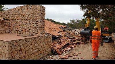 Abusivismo: demolita villa a Lampedusa