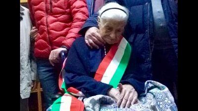 Morta Nonna Peppa, più anziana d'Europa