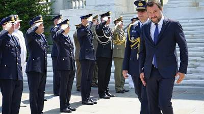 Salvini, Tria? Tasse vanno tagliate