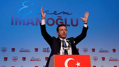 Erdogan attacks Istanbul's ousted mayor days before poll re-run