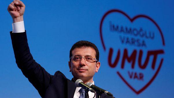 أردوغان يشن هجوما على رئيس بلدية اسطنبول المخلوع قبل أيام من إعادة الانتخابات