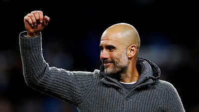 Manchester City boss Guardiola's cardigan raises over 6,000 pounds for charity