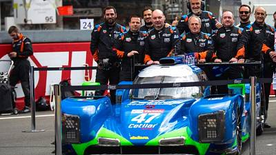 Villorba Corse come in un film a Le Mans