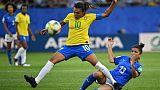 Foot: la Brésilienne Marta s'empare du record absolu de buts en Coupe du monde