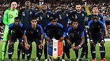 L'équipe de France Espoirs arrache la victoire contre l'Angleterre 2-1 lors de l'Euro le 18 juin 2019