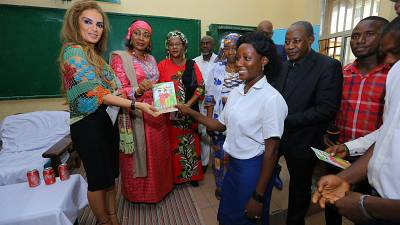 Merck Foundation in partnership with the First Lady of Guinea launches a children story to teach children and youth family values of love and respect- The Story of Abubaker and Fataou