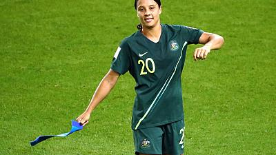 Australia goes Kerr-azy after four-goal blitz at World Cup