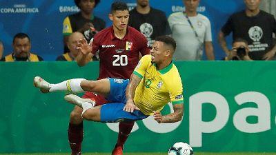 Copa America: Brasile-Venezuela 0-0