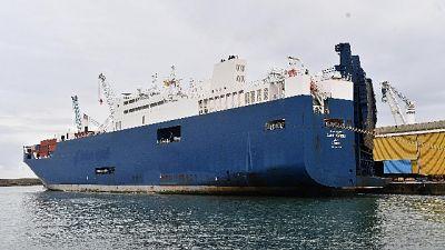 Nave armi: domani sciopero portuali