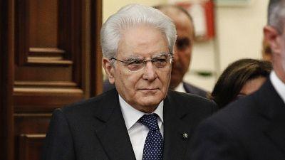 Ue:Conte e alcuni ministri al Quirinale