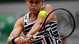 L'Australienne Ashleigh Barty lors de la finale de Roland-Garros face à la Tchèque Marketa Vondrousova, le 8 juin 2019