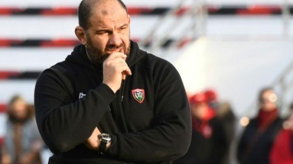 L'entraîneur de Toulon, Patrice Collazo, lors du match de Top 14 face au Stade Français, au stade Mayol, le 27 janvier 2019