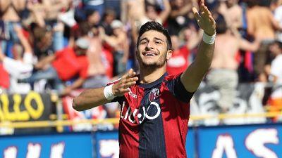 Bologna: riscattato Orsolini dalla Juve