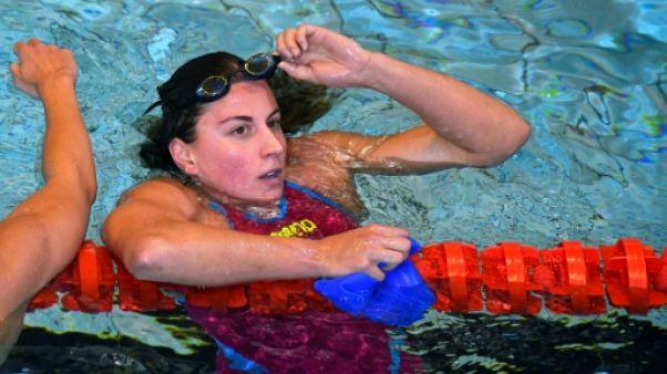 La Française Charlotte Bonnet remporte la finale du 200 m libre des Championnats de France, le 18 avril 2019 à Rennes