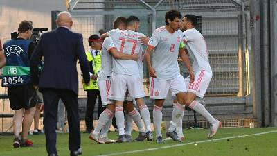 Euro U.21: Spagna-Belgio 2-1