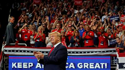 Trump's big show on July 4: patriotic speech or campaign rally?