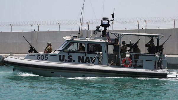 البحرية الأمريكية: شظايا ألغام تشير لضلوع إيران في الهجوم على الناقلات بالخليج